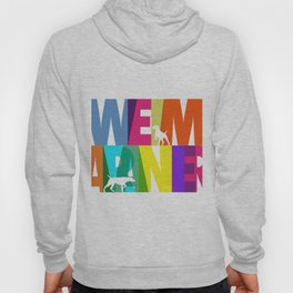 WEIMARANER COLOURS Hoody