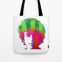 dylan Tote Bags featuring Dylan by Kip Sikora