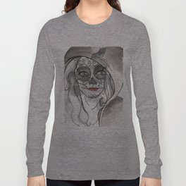 Woman bones Long Sleeve T-shirt