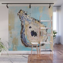Impressionistic Oyster #2 - golden oyster Wall Mural