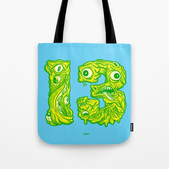 Ugly 13 Tote Bag
