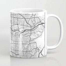 Minimal City Maps - Map of Anaheim, California, United States Coffee Mug