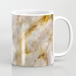 Gold Streaked Marble Coffee Mug