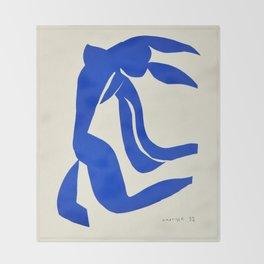 Blue Nude Dancing - Henri Matisse Throw Blanket