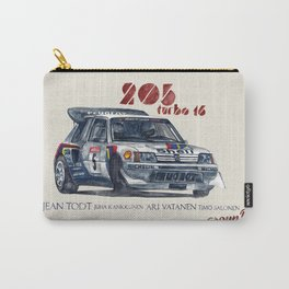Legend of GROUP B: Peugeot 205 Turbo 16 Carry-All Pouch