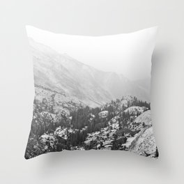 Ever On The Mountains Go Throw Pillow