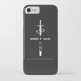 Romeo and Juliet Poster 01 iPhone Case