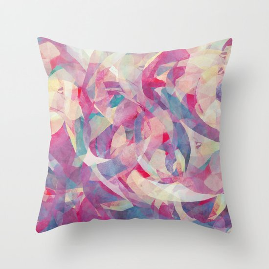 Knowing Glance Throw Pillow