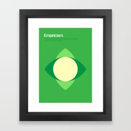 Empiricism Framed Art Print