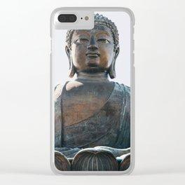 Tian Tan Buddha Clear iPhone Case