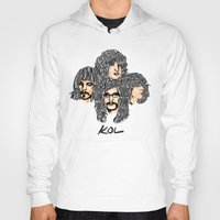 leon Hoodies featuring Kings of leon by KVNCHRLZ