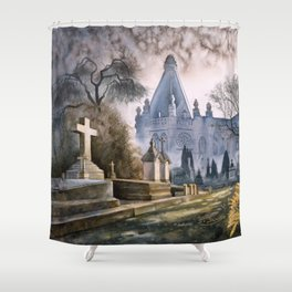 En famille Shower Curtain