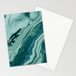 Blue Planet Marble Stationery Cards
