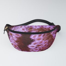 Purple Closing Queen Anne's Lace Fanny Pack