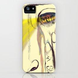 I, Eye, Aye iPhone Case