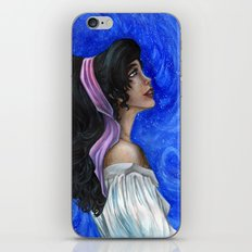 Esmeralda iPhone & iPod Skin