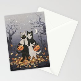 halloween cats 2 Stationery Cards