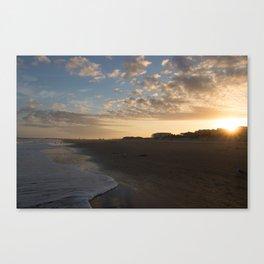 Tybee Island Sunset Canvas Print