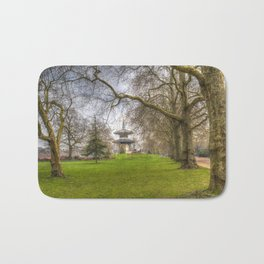 The Pagoda Battersea Park London Bath Mat