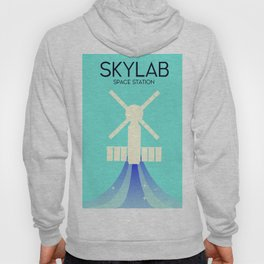 Skylab Space Station Space Art. Hoody