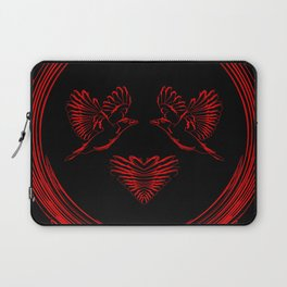 Love birds for the heart and soul. Laptop Sleeve