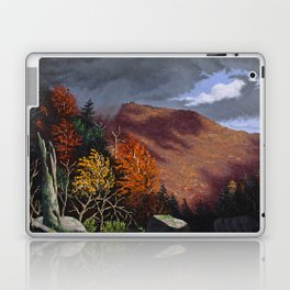 Passing storm, Thacher Park, Albany Laptop & iPad Skin