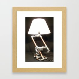 Articulated Desk Lamps - Copper and Chrome Collection - FredPereiraStudios_Page_02 Framed Art Print