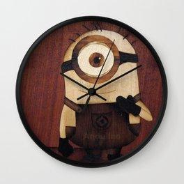 Minion of sweet nice cute funny gru Wall Clock