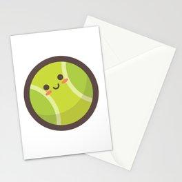 Tennis Ball Emoji Stationery Cards