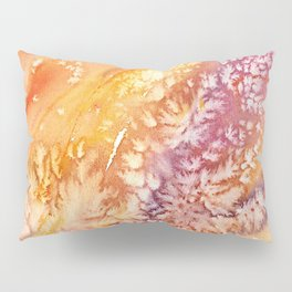 Apricot Rose Abstract Design Pillow Sham