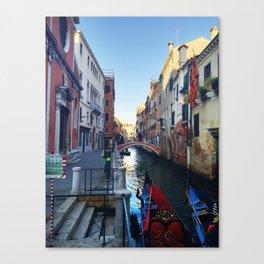 Gondola Ride Canvas Print