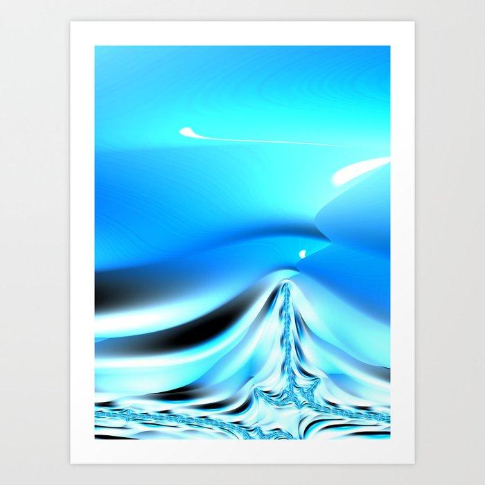 The Blues #3 Art Print