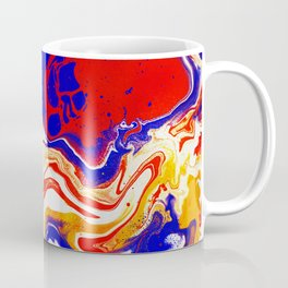 Liquified Red Coffee Mug