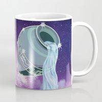 aquarius Mugs featuring Aquarius by WesSide