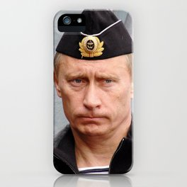 Putin seaman. iPhone Case