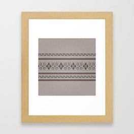 The Big Lebowski Cardigan Knit Framed Art Print