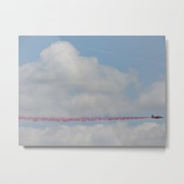 Red Arrow Metal Print