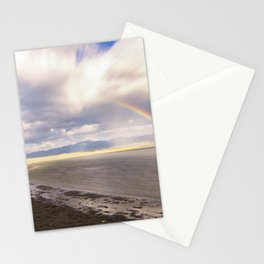 Rainbow.. after a storm Stationery Cards