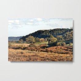 Autumn in Hutton-Le-Hole Metal Print