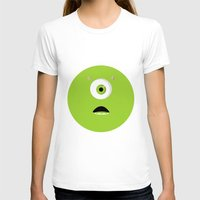 mike wrobel T-shirts featuring Mike Wazowski by Bearded Manatee
