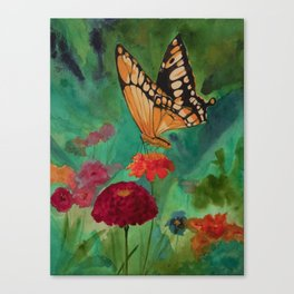 Summer Butterfly Canvas Print
