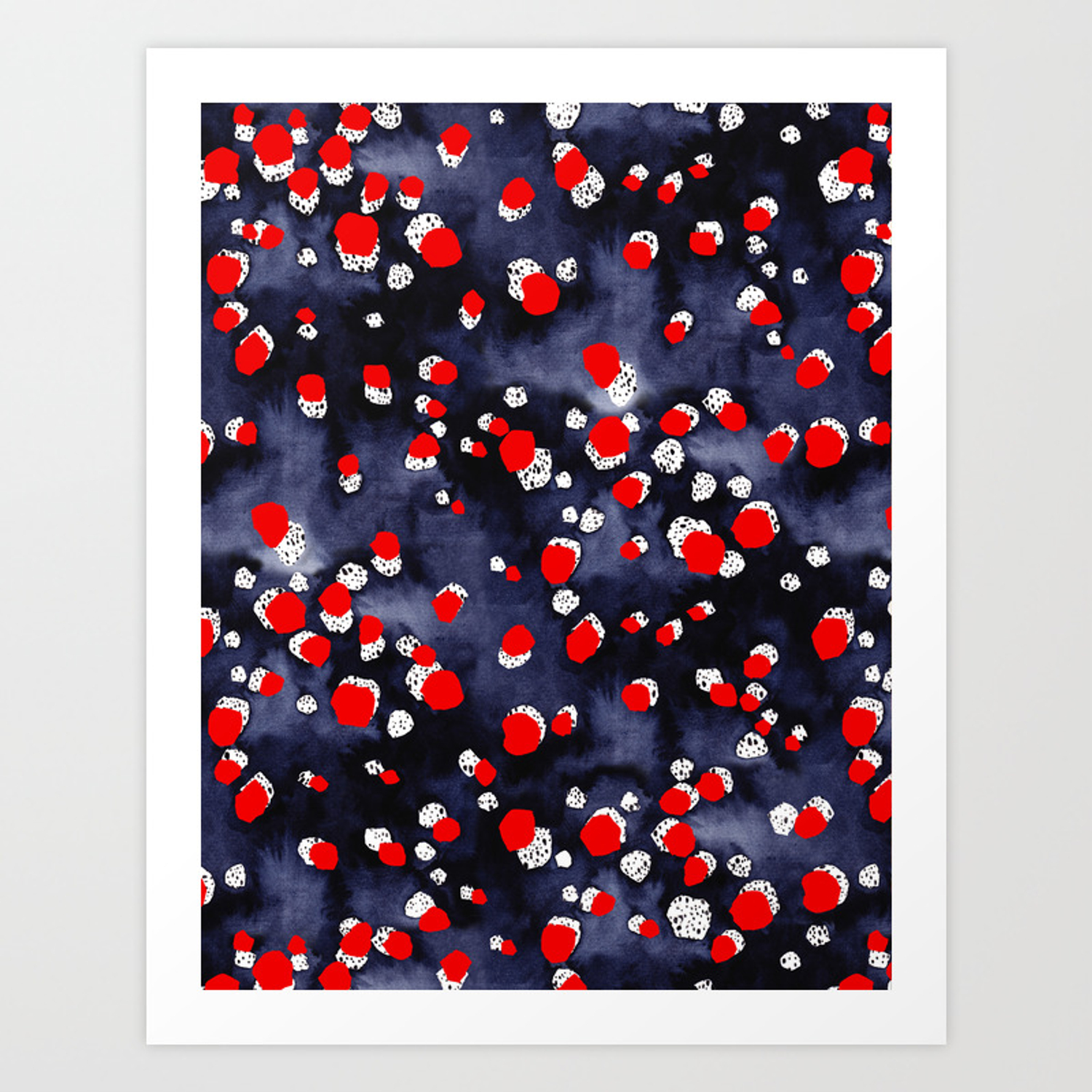 Spots seeing red Anxiety Can