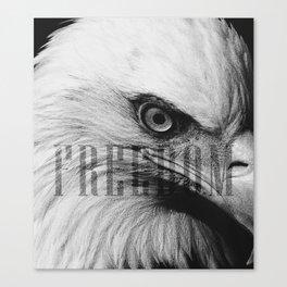 Freedom Eagle Canvas Print