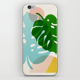 Abstraction_PLANTS_01 iPhone Skin