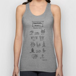 Hannibal - Season 1: Bloodless Edition! Unisex Tank Top