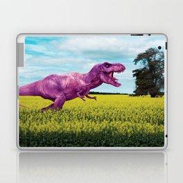 Pink in the fields Laptop & iPad Skin