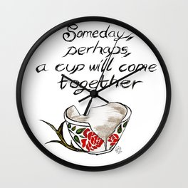Hannibal cup Wall Clock