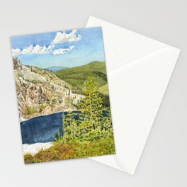 THE HIGH COUNTRY Stationery Cards