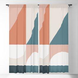 Cirque 02 Abstract Geometric Blackout Curtain