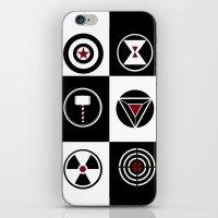 avenger iPhone & iPod Skins featuring Avenger by ArikaDoe
